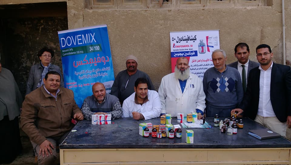 Medical convoy in Fayoum
